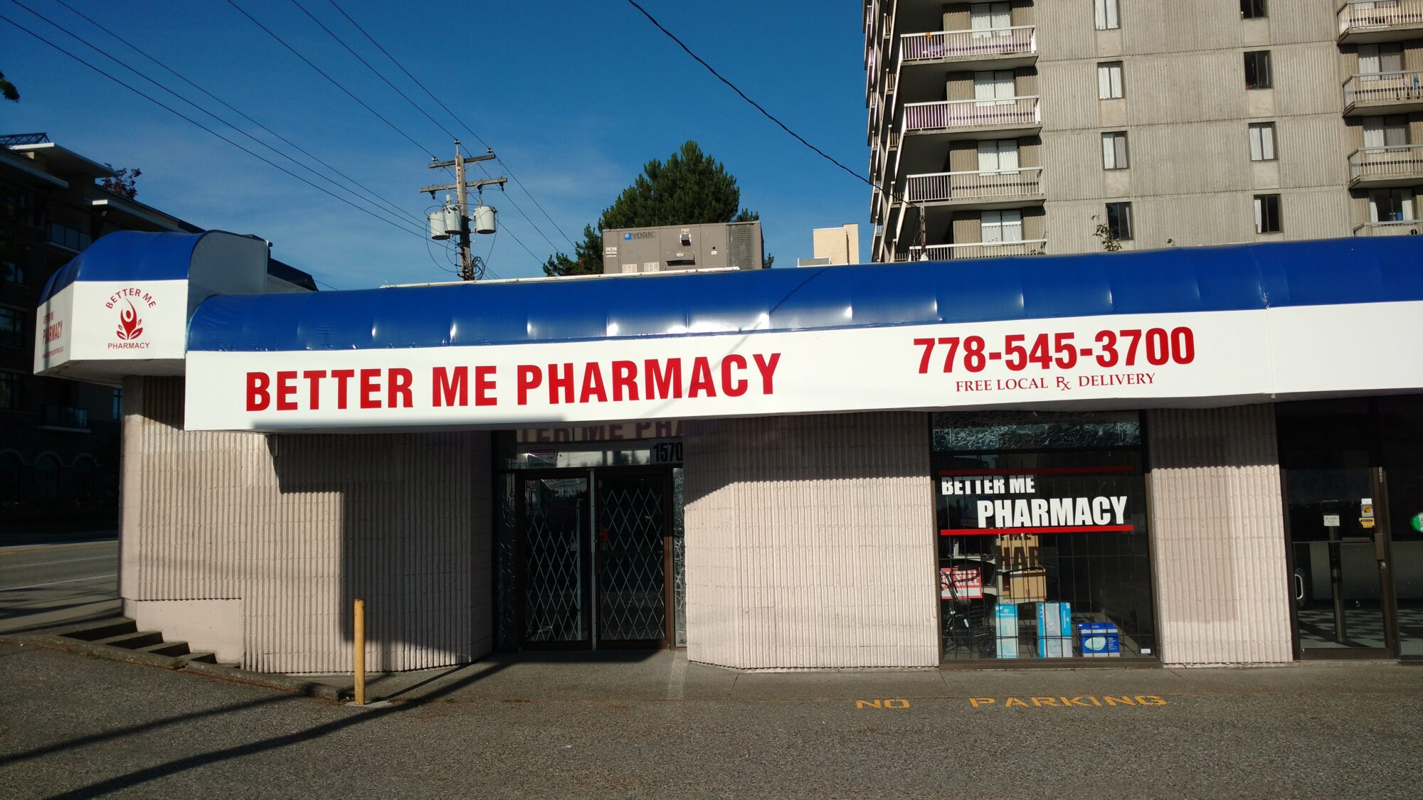 BETTER ME PHARMACY 778-545-3700